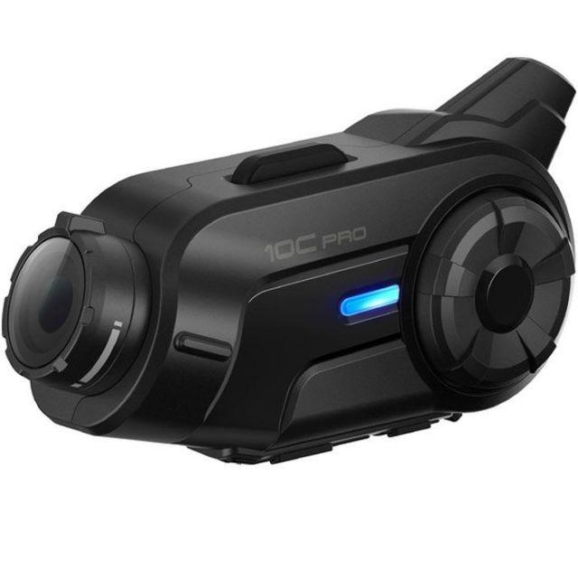 Sena 10C Pro QHD Camera Motorcycle 4-Way Communication System