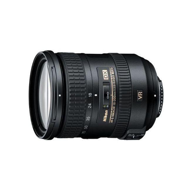 Nikon AF-S 18-200mm f3.5-5.6G ED DX VR II Zoom Lens - Express Delivery