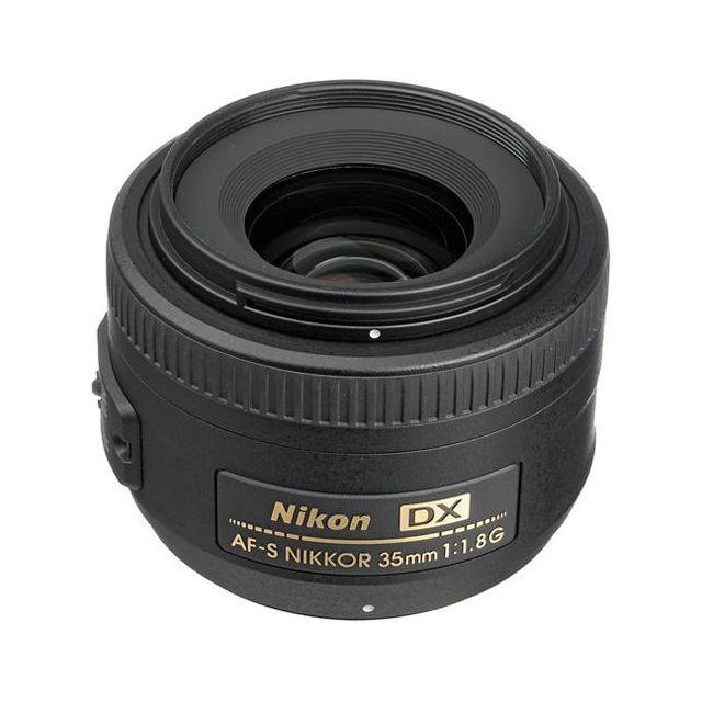 Nikon AF-S Nikkor 35mm f/1.8G DX Lens - Express Delivery