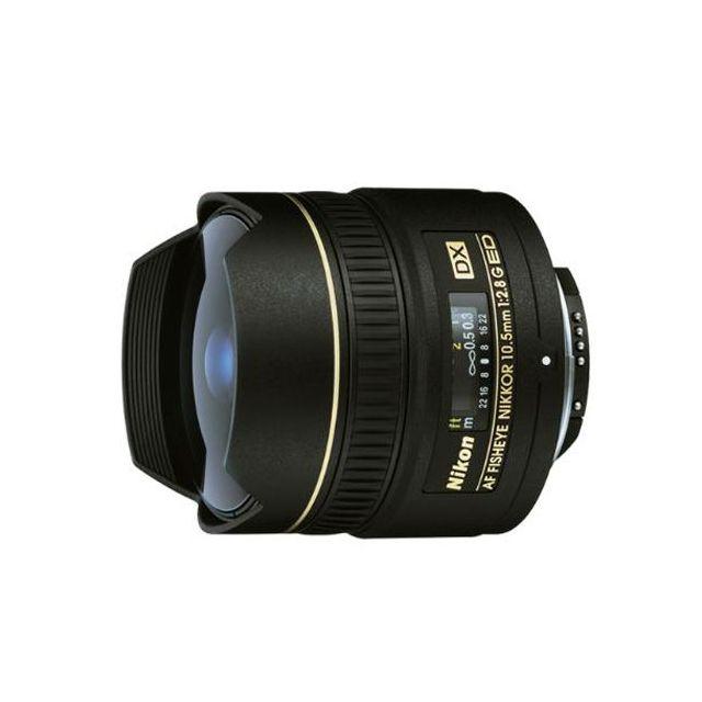 Nikon AF DX 10.5mm F/2.8G ED Fisheye Lens - Express Shipping