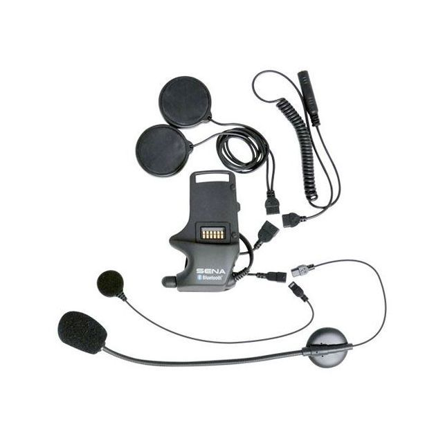 Sena SMH-A0306 Helmet Clamp Kit Attachable Boom & Wired Mic - Express Delivery