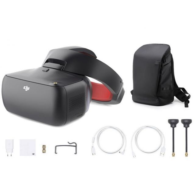 DJI Goggles RE Racing Edition + Carry More Backpack FPV Headset