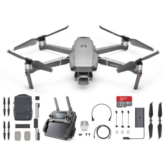 DJI Mavic 2 Pro +64GB Fly More Combo Drone Quadcopter