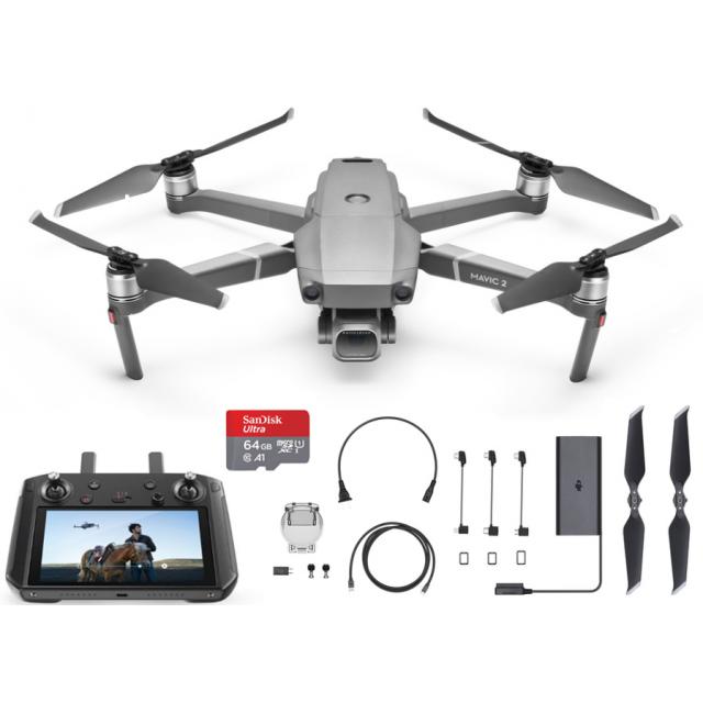 DJI Mavic 2 Pro + Smart Controller +64GB Drone Quadcopter