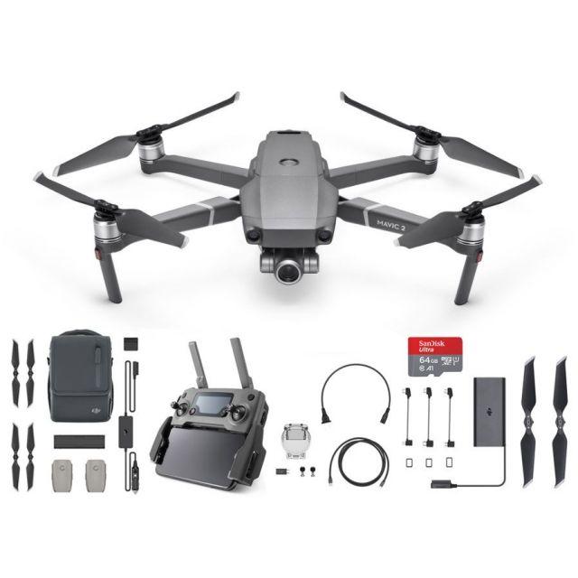 DJI Mavic 2 Zoom Fly More Combo  +64GB  Drone Quadcopter
