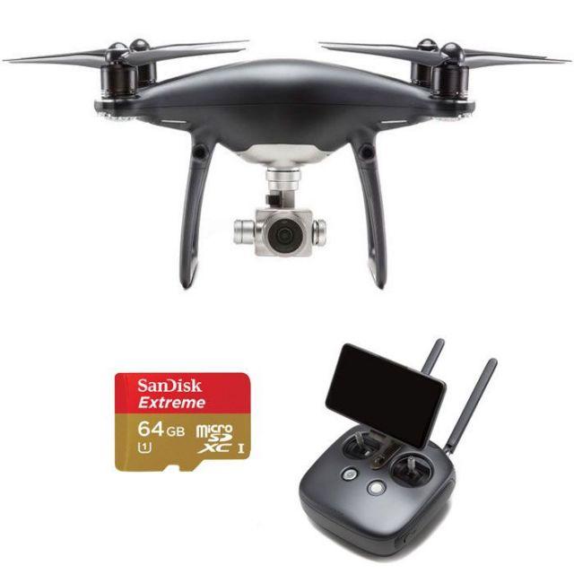 DJI Phantom 4 Pro+ w. LCD Obsidian + 64GB Extreme Card Quadcopter
