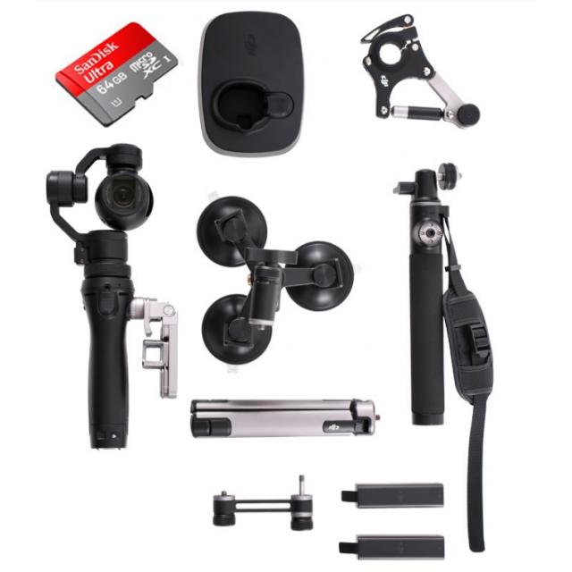 DJI Osmo w. 64GB Sport Accessory Kit