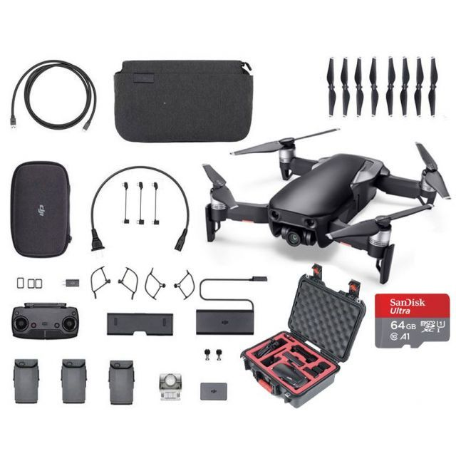 Mavic Air Combo +Case +64GB Black Fly More Drone Ultimate Quadcopter DJI