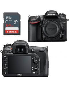 Nikon D7200 DSLR Camera Body +64GB - Express Delivery