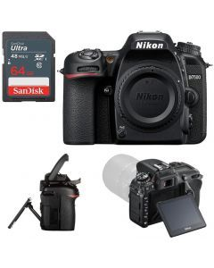 Nikon D7500 DSLR Camera Body +64GB