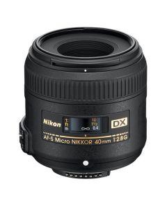 Nikon 40mm f/2.8G AF-S DX Micro-Nikkor Lens - Express Shipping