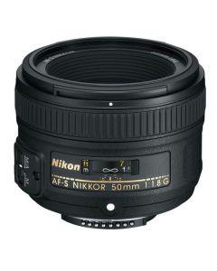 Nikon AF-S Nikkor 50mm f/1.8G Lens - Express Delivery