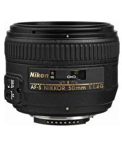 Nikon AF-S Nikkor 50mm f/1.4G Autofocus Lens - Express Delivery