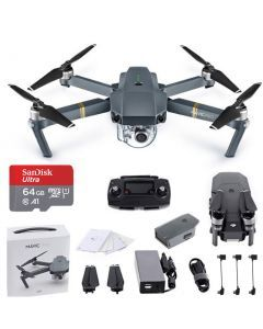 DJI Mavic Pro +Battery +64GB Drone - includes 2 Batteries