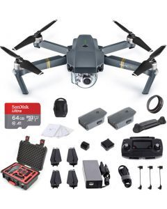 DJI Mavic Pro Combo +Case +64GB +UV Ultimate Bundle - Fly More