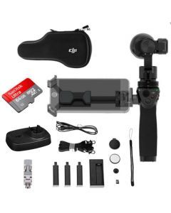 DJI Osmo with 2 extra batteries & Osmo Base Handheld 4K Camera w/ 3-Axis Gimbal