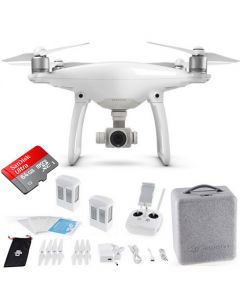 DJI Phantom 4 + Extra Battery +64GB Sandisk Drone Quadcopter Bundle