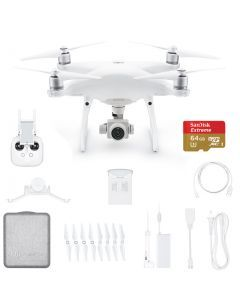 DJI Phantom 4 Advanced w. Extra Battery +64GB Extreme Card