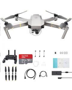 DJI Mavic Pro Platinum + 64GB Drone Quadcopter
