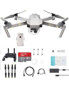 DJI Mavic Pro Platinum +Battery + 64GB Drone - includes 2 Batteries