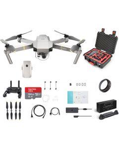 DJI Mavic Pro Platinum +Hardcase +64GB +UV + extra Battery Ultimate Drone Bundle