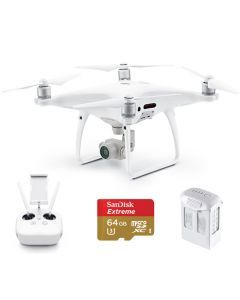 DJI Phantom 4 Pro w. extra Battery & 64GB Extreme Card Quadcopter
