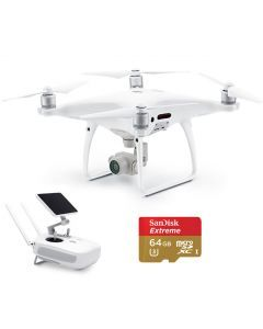DJI Phantom 4 Pro+ w. LCD Screen + 64GB Extreme Card Quadcopter PLUS