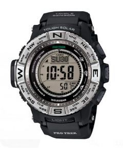 Casio PRW3500-1 Pro Trek Pathfinder Solar Triple Sensor Mens Watch